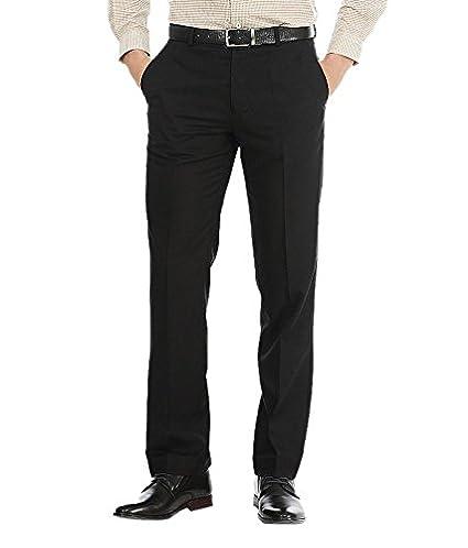 f4bf749ba6d AD   AV Mens Formal Trouser SAIBLACK P  Amazon.in  Clothing ...