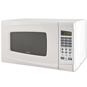 Amazon Com Rival Microwave Oven 0 7 Cu Ft White