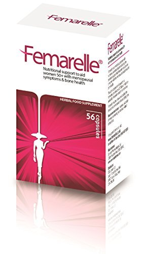 Femarelle Natural Relief for Menopause & Bone Health, 56 Capsules by Se-Cure Pharmaceuticals Ltd.