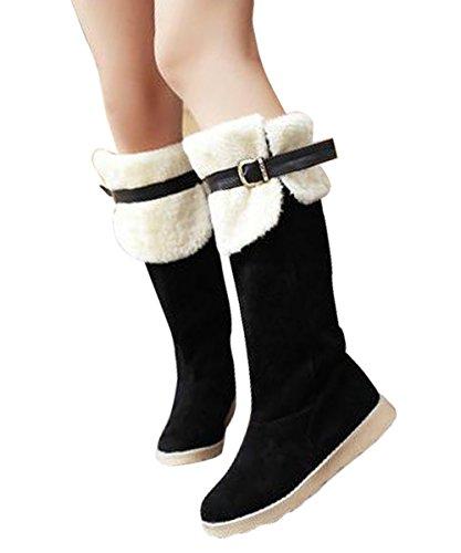 Cotomi - Botas de nieve mujer negro