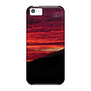 High-end Cases Covers Protector For Iphone 5c(sunrise Over Ensenada Bc Mexico)