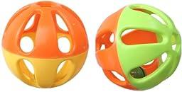 Super Bird Creations Birdie Balls Toy for Birds, 3-Inch, Pack of 4