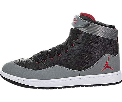 Jordan Mens KO 23 Basketball Sneaker (Black/Gym Red-White-Smoke Grey, 10.5 M US) (Red And Black 23 Jordans)