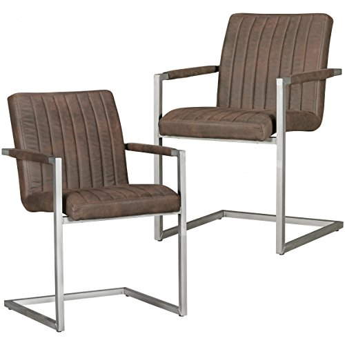 Home Collection24 Juego de 2 sillas de Comedor Magnus Diseño ...