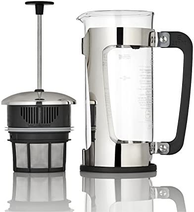 Espro 1232C-FFP P5 French Press, 32 Ounce, Glass Stainless Steel