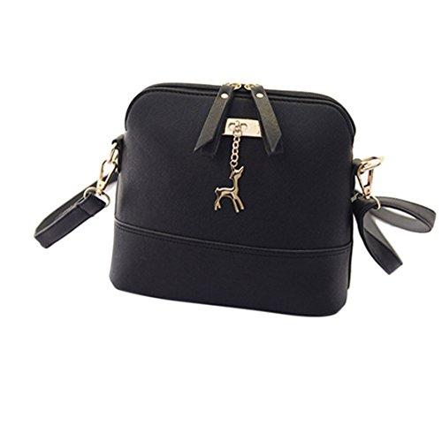 Women Messenger Bags, Luca Small Shell Leather Vintage Handbag Casual Bag