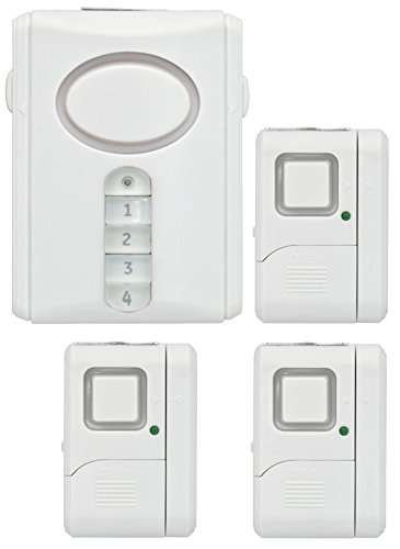 Amazon.com : GE Personal Security Alarm Kit, Includes Deluxe Door ...