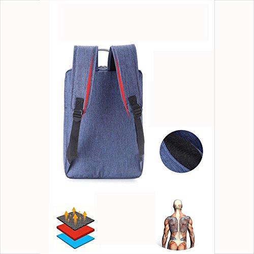 Laptop Backpack Mochila para portátil hasta 14 pulgadas para negocios / trabajo / viajes Mochila para portátil ultra ligera , red Rose Red