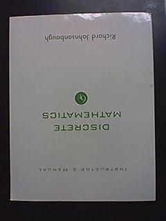 Solutions manual discrete mathematics richard johnsonbaugh instructors manual discrete mathematics instructors manual discrete mathematics richard johnsonbaugh fandeluxe Image collections