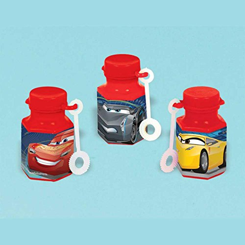 American Greetings Cars 3 Mini Bubbles, 12-Count