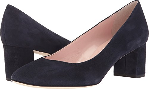 Kate Spade New York Women's Dolores Navy Kid Suede 10.5 M (Kate Spade Patent Leather Shoes)