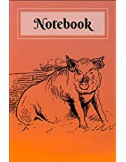 """Notebook: Notebook: 100 Pages, College Ruled, 6"""" x 9"""" (Great Gift for Friends, Family Members, Students & Teachers or an Excellent Journal)"""