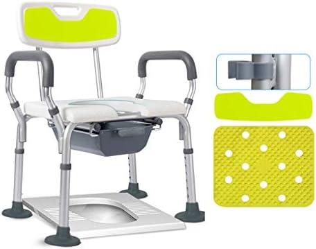 خفيفة الوزن المحمولة كرسي الحمام للمرأة الحوامل مقعد المرحاض للمرضى المعاقين المرحاض حمام مقعد التبول اللون مع دلو Amazon Ae