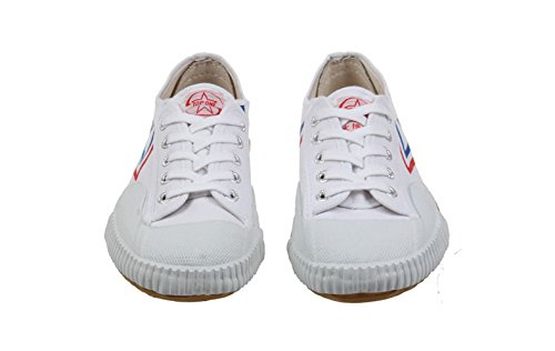Feiyue Kungfu Martial Arts Taichi Trainer Shoes - For Men and Women (white, 41(men's 8 1/2))