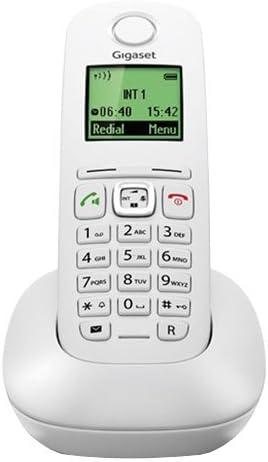 Gigaset Dect A540 - Teléfono inalámbrico, blanco