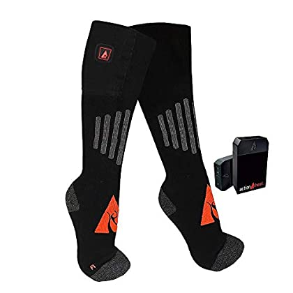 Image of ActionHeat 5V Battery Heated Socks - Wool Socks