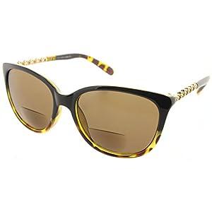 Women's Fiore Maui Bifocal Cateye Sunglasses Sun Readers Reading Glasses
