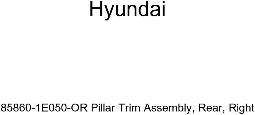 Rear Right Genuine Hyundai 85860-1E050-OR Pillar Trim Assembly