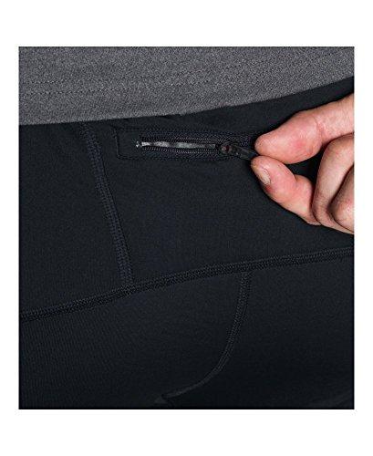 Under Armour Men's NoBreaks ColdGear Infrared Run Leggings, Black (001), Large Photo #3