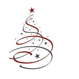 alfombrilla de ratón árbol de Navidad - rectangular - 23cm x 19 cm
