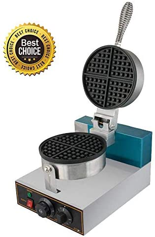 Professional Waffle Maker,vinmax Commercial Waffle Maker Waffle Maker Rotated Nonstick Electric Egg Cake Oven Puff Bread Maker Shipping from US , 110V