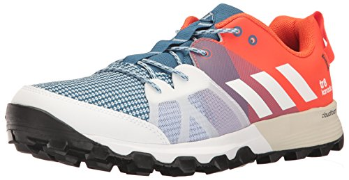 adidas outdoor Mens Kanadia 8 TR Trail Running Shoe Core Blue/White/Energy l3CmFDwCQF