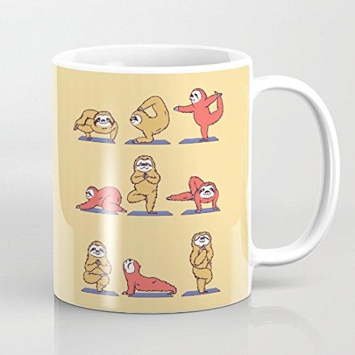 Desconocido Divertida Taza de cerámica para Yoga o café, 325 ...