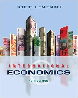 International Economics Robert Carbaugh