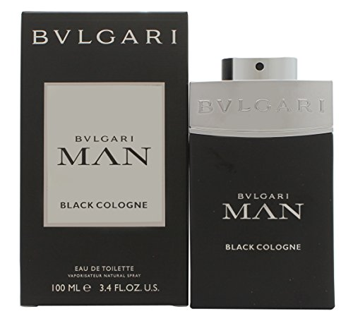 - Bvlgari Man Cologne Eau de Toilette Spray, Black, 3.4 Ounce