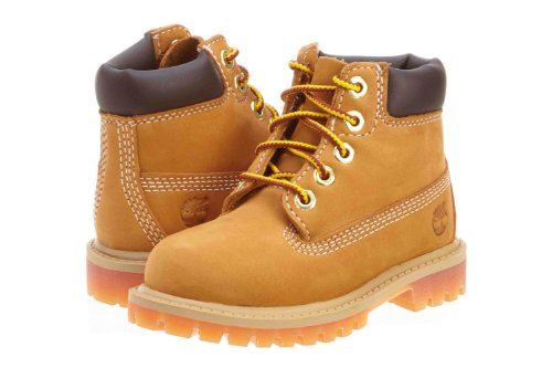 Timberland Kids' 6 Inch Premium Infant-Toddler Boot 12 M US Little Kid Wheat (Boots Timberland Infant)
