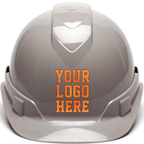 Custom Hard Hats - Personalized Logo - Pyramex Ridgeline Cap Style 4 Point Ratchet ()