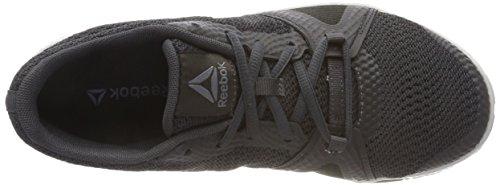 Scarpe Donna Sportive Black Grey Alloy Skull Coal Reebok Nero Flexile 000 Indoor xg5WI7q