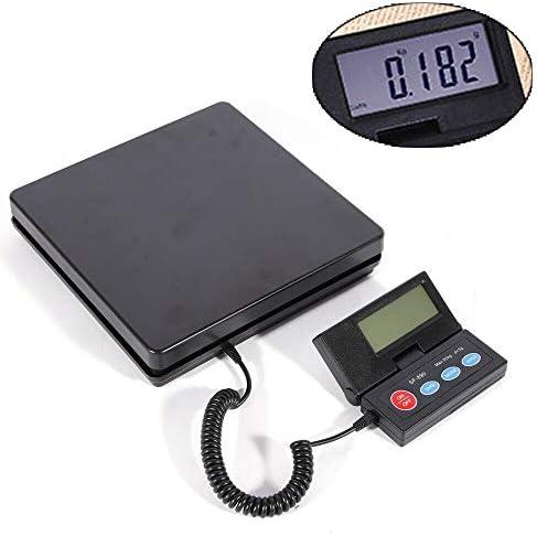Sujrtuj - Bilancia elettronica professionale per imballaggio, 50 kg, 2 g, display LCD