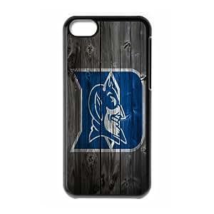 WY-Supplier NCAA iphone 5c case Best wood ncaa Apple Iphone 5C case Protector Duke Blue Devils Apple Iphone 5C Fitted phone Cases