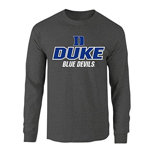 Duke Blue Devils Long Sleeve Tshirt Charcoal - XXL (Duke Blue Devils Fan)