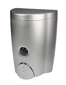 Simply Silver Wall-Mount Soap Dispenser (20oz)