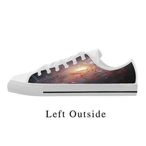 DONGMEN Custom Trendy Men's Exquisite Star Action Leather Lace Up low top Shoes US11 (Lord Of The Rings Shoes)