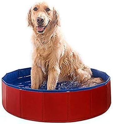 Temper_girl - Piscina de baño para Mascotas, PVC, Hinchable ...