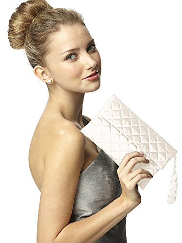 Quilted Envelope Clutch - 1