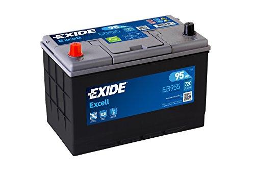 Exide 250Se EB955 Car Battery 95 Ah: