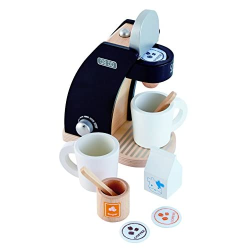 Durable Service Hape Coffee Time For Two Wooden Coffee Maker Play