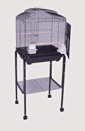 Rolling Stand for Bird Cage (Stand Only) - Black - 18\