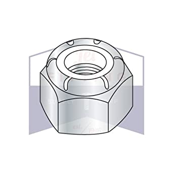 Metric Nyloc Nuts DIN985 Grade /'8/' M8 x 1.0 50 Nuts Free Postage