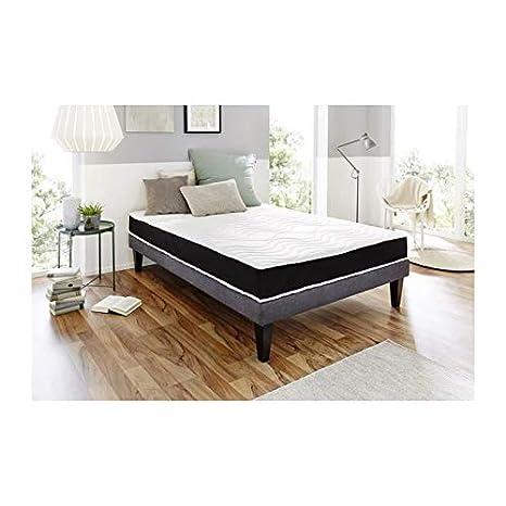 dormipurmemo V850 colchón 140 x 190 cm – espuma de poliuretano y memoria de forma –