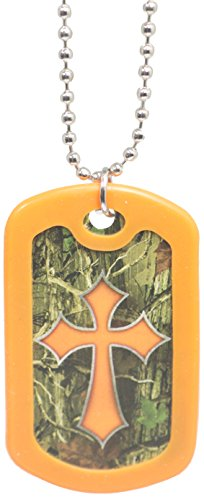 Faith Tags-Dog Tag Necklace (Camo (Christian Dog Tag Necklaces)