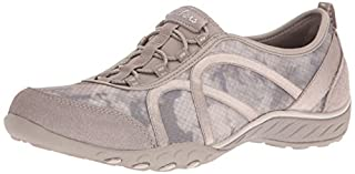 Skechers Sport Women's Breathe Easy Fortune Fashion Sneaker,Taupe Mesh/Suede,7.5 M US (B01B5DXZNE) | Amazon price tracker / tracking, Amazon price history charts, Amazon price watches, Amazon price drop alerts