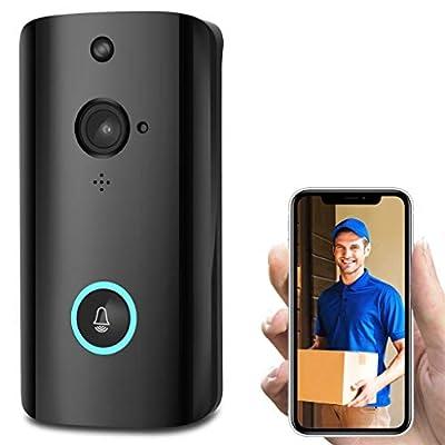 Sacherron Tech Security M9 1080P Smart WiFi Security Doorbell Wireless Video Phone Camera Night Vision Smart doorbell