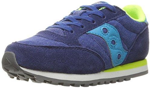 SAUCONY JAZZ KIDS BLUE CITRON SC55550