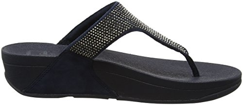 Fitflop C65, Sandalias con Tiro a T Mujer Azul (Supernavy)