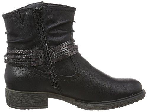 Softline 25464 Damen Biker Boots Schwarz (schwarz (BLACK 001 ))